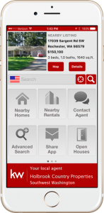 Holbrook Country Properties mobile property search app